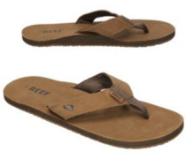 Leather Smoothy Sandals bronze brown