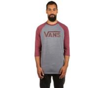 Classic Raglan T-Shirt LS burgundy hea