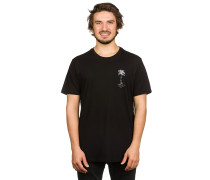 Palmskull Droptail T-Shirt schwarz
