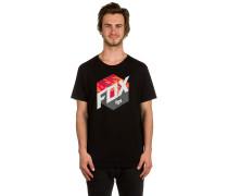 Kasted T-Shirt schwarz