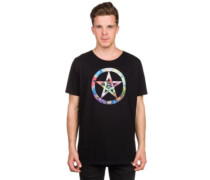 Be Safe Logo Trippy T-Shirt black