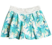 Surf Queens Shorts marshmallow washed palm