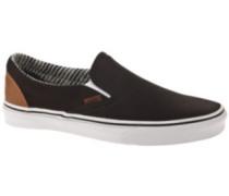 Classic Slip-On Slippers stripe denim