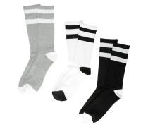 Brawny 3pk Socks white