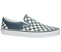Classic Checkerboard Slip-Ons true white
