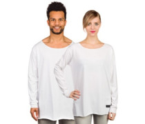Slacker Johnny T-Shirt LS white