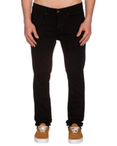 K Skinny Denim Jeans jet black