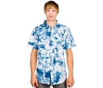 Blue Dialation Button Up Hemd blau