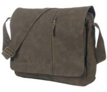 Lezer Satchel Camo Bag brown