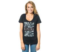 Mia Flores T-Shirt schwarz
