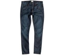 Low Bridge Jeans blau