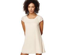 Embroidered Kleid weiß