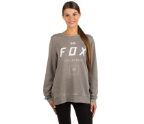 Growled Po Crew Sweater grau