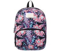 Always Core Backpack anthracite tropical dream