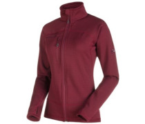Aconcagua Light Fleece Jacket merlot melange