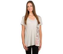 Antidote V Neck T-Shirt dove heather