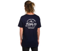 Letters T-Shirt navy