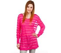 Longe Sleeve Tunic Sweater pink