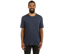 Basic Pocket Crew T-Shirt blau