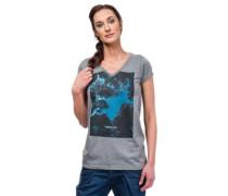 Heart Of Night T-Shirt heather gray