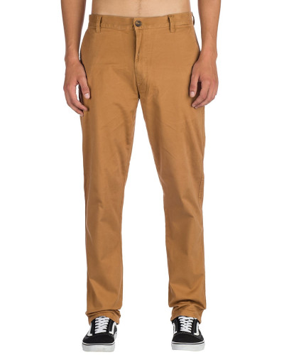 Howland Classic Chino Pants bronco brown