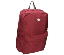 Heather Backpack new red wash