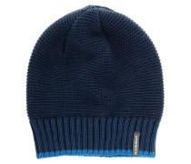 Alvier Beanie blau