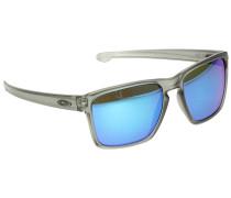 Silver XL Matte Grey Ink Sonnenbrille schwarz