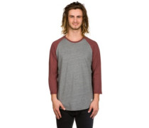 Basic Raglan T-Shirt LS grey heather