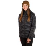 Miva In Hooded Outdoor Fleece Jacket black