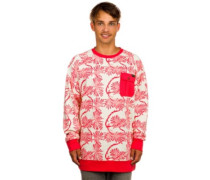 Granville Crew Sweater tropic pinetree flr