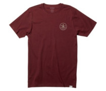 Cole T-Shirt burgundy