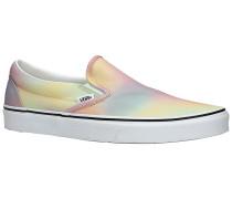 Classic Neon Slip-Ons true whi
