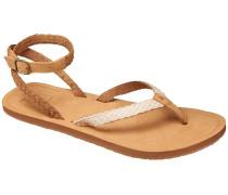 Gypsy Wrap Sandalen Frauen braun
