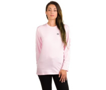 Girl Longsleeve Small Logo T-Shirt LS rosa