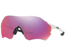Evzero Range Matte White Sonnenbrille weiß