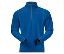 Ombo Half Zip Fleece Pullover blau
