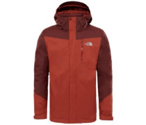 Solaris Triclimate Outdoor Jacket brandy brown