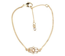 BT Fatima Hand Bracelet with Swarovski Crystals gold