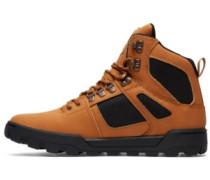 Spartan High Wr Shoes dk chocolate
