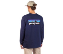 P6 Logo Responsibili Long Sleeve T-Shirt classic navy
