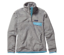 Re-Tool Snap-T Fleece Pullover grau