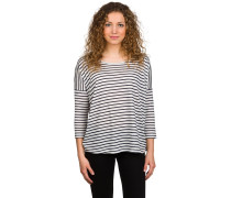 Ellie Stripe 3/4 T-Shirt blau