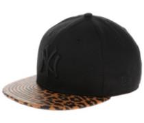 NY Yankees Classic Leo Snap Cap leopard