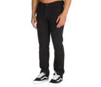 K Slim Denim Jeans jet black