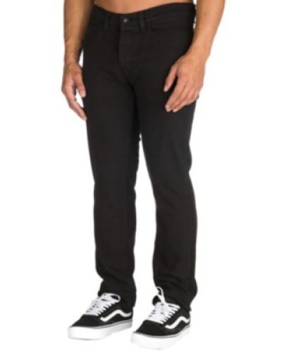 K Slim Denim Jeans jet black