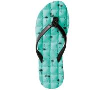 Recliner Sandals Women aqua
