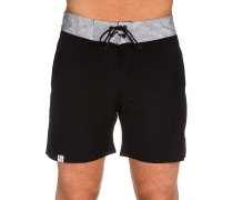 BT Palm Boardshorts schwarz