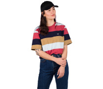 Fat Stripe T-Shirt navy khaki