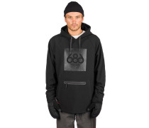 Waterproof Shred Hoodie black